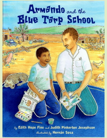 Armando and the Blue Tarp School book cover