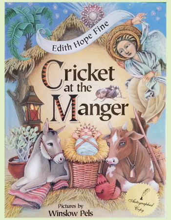 Cricket at the Manger book cover
